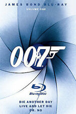 James Bond Blu-ray Collection: Volume One [Dr. No / Die Another Day / Live and L