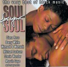 SOUL FOR YOUR SOUL - THE VERY BEST OF BLACK MUSIC / 2 CD-SET