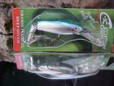 Cotton Cordell Jointed Wally Diver (Cast/Troll) CDJ506 - CHROME/BLUE for Walleye