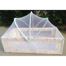 Netting Canopy Cushion Mattress for Baby Infant Mosquito Insect Cradle Bed Net