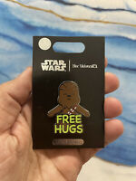 2021 Disney Parks Chewbacca Free Hugs Her Universe Pin New