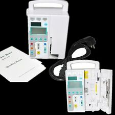 Infusion Pump- IV Fluid equipment voice alarm patient monitor KVO Purge Memory A