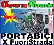 Portabici posteriore X 2 BICI per fuoristrada Gringo Bici - FABBRI