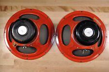 "(2) Vintage Realistic (Utah) 15"" Ceramic Magnet Speaker 40-1314"