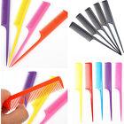 10Pcs Fashion Hair Comb Salon Brush Styling Hairdressing Rat Tail Plastic Comb