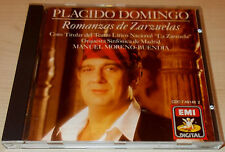 PLACIDO DOMINGO-ROMANZAS DE XARZUELAS-W/G 1ST ISSUE CD 1988-BUENDIA-ALONSO-MINT