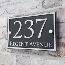 "Custom Acrylic Door Number House Sign Apartment Street Address 15""x12"""