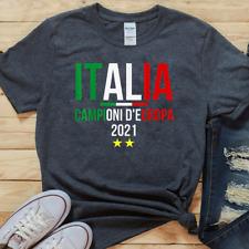 Italy Soccer Jersey Shirt Italy Champions of Europe T-Shirt Funny Football