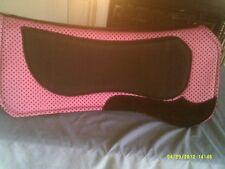 Saddle Pad Sure Grip Contour Shape Pink