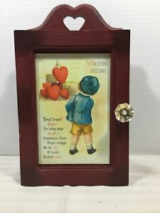 Vintage Beautiful Valentine Key Box 2005