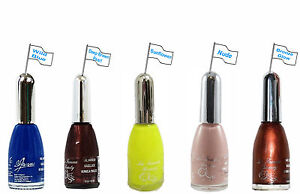 Bright Blue or Yellow or Shimmer Bronze or Deep Brown or True Nude Varnish CHOSE