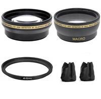 Wide Angle Telephoto Lens For Sony Alpha NEX-7 NEX-5 NEX-3 NEX-F3 NEX-C3 A3000