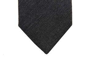 Battisti Tie Charcoal grey, pure wool