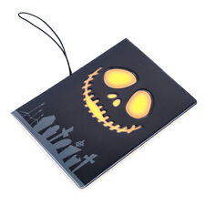3D Skull Stereo Holder Documents Passport Cover Essential Travel Package Bag Jia