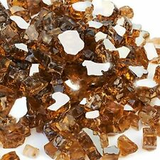 20-Pound Glass High Luster, 1/2inch Reflective Tempered Fire Cosmic Copper &amp
