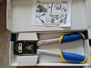 KLAUKE Presszange K 05 für Rohrkabelschuhe und Verbinder 6 - 50 mm²