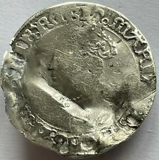 More details for rare 1553-54 mary i (1st) silver hammered groat tudor coin pomegranate mm london