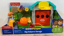 Fisher-Price Little People Big Helpers Garage. Hours of Imaginative Play