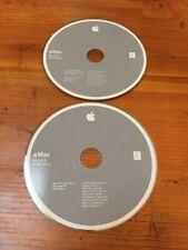 Mac Macintosh eMac OS 10.3 X Install Software Discs CDs 10.3.4 Panther 2003