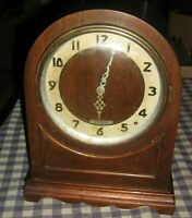 Vintage Electric SETH THOMAS Mantel Shelf Clock Dome Model 3711,Wooden,Rare