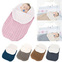 Newborn Child Winter Soft Outdoor Large Blanket Sleeping Bag for Baby Infant ##