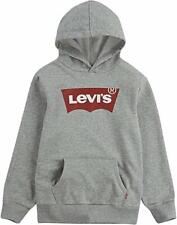 Levi's Boys' Youth Gray Logo Pullover Hoodie Size 7/8