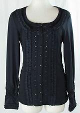 Bonita Damenblusen, - tops & -shirts mit Rundhals-Ausschnitt und Stretch
