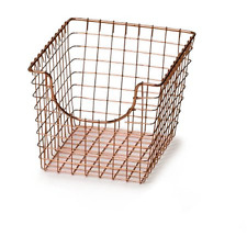Spectrum Small Scoop Basket, Copper