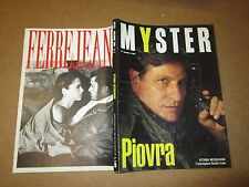 RIVISTA DI GLAMOUR MYSTER N°2 NOVEMBRE 1990 VITTORIO MEZZOGIORNO LA PIOVRA