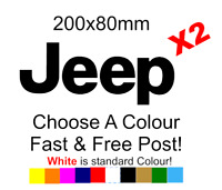 Jeep Logo 4x4 Sticker Decal Vinyl Car Van Lorry Motorcycle Funny JDM VW