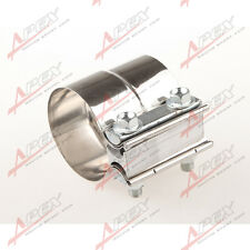 """2.5"""" Stainless Steel Lap Joint Band Clamp Exhaust Clamp"""