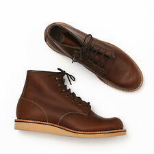 Red Wing Rover 2950 Amber Harness Leather Heritage Boots - Size 9 D