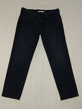 LEVI'S – Womens Size 28 – BOYFRIEND Dark Denim Ankle Jeans – #W568  *mint*