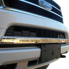 For Ford Expedition 2015-2017 SAA 1-Pc Chrome Bumper Grille Accent Trim