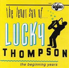 Lucky Thompson - The Beginning Years (CD, 1991, IAJRC Records) Factory Sealed