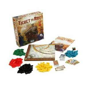 TICKET TO RIDE Original Edition Family Board Game - OFFICAL - SEALED