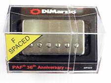 DiMarzio F-SPACED PAF 36th Anniversary Bridge W/Aged Nickel Cover DP 223