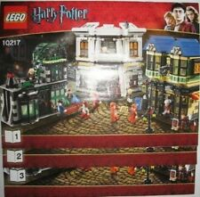 LEGO 10217 - HARRY POTTER - Diagon Alley - INSTRUCTION MANUAL - Book 1,2 & 3