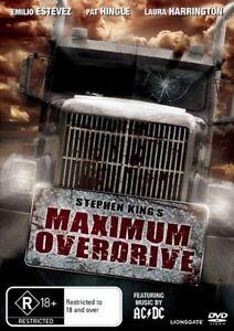 Maximum Overdrive (DVD, 1986)