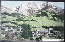 Switzerland~1900's ADELBODEN~Grosser Lohner ~Swiss Alps