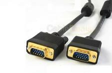 1.5M S VGA 15 PIN MONITOR CABLE PC TO LCD PLASMA TV 5FT