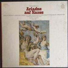 STRAUSS-ARIADNE auf NAXOS-JANOWITZ-KING-KEMPE-ORIGINAL ANGEL 3-LP BOX SET-RARE