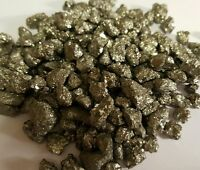 1/4 lb Iron Pyrite Natural Chispa Crystal MInerals Fools Gold Extra Small Gems