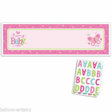 Baby Shower Plastic Party Banners, Buntings & Garlands