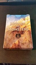 1 Empty Deck Box - HEROS VS MONSTERS - NM/SP Condition - Magic MTG FTG