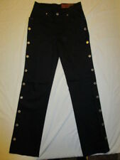 WOMENS JEANS LAWMAN WESTERN BRAND  COLOR BLACK SIZE 1 SLIM FIT BNWT
