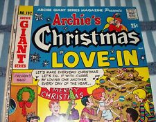 Archie Giant Series Magazine #192 Archie's Christmas Love-In Jan. 1972 in VG+