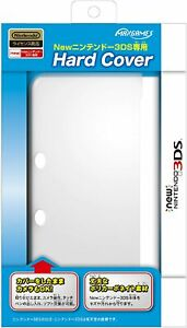 MAXGAMES Hard Protect Case Cover Clear for ''NEW Nintendo 3DS ''(NOT 3DS LL)
