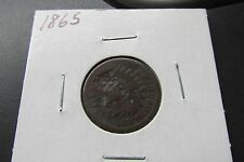 1865 Indian Head Cent Penny~~~~Vintage US coin ~~~FREE SHIPPING#C99