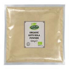 Organic Gotu Kola Powder 500g Certified Organic
